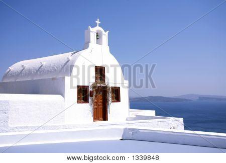 Santorini Chapel Horizontal