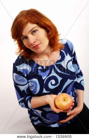 Pregnant Women With Apple
