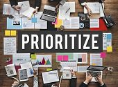 Prioritize Efficiency Expedite Importance Issues Concept poster