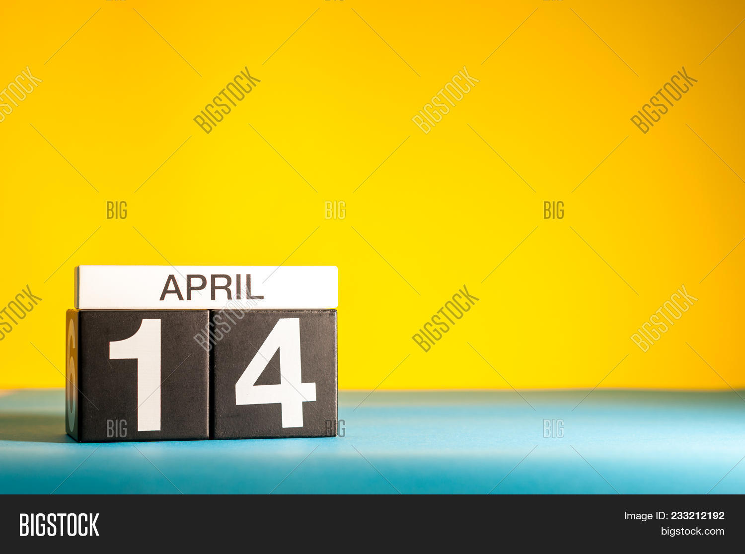 April 14th  Day 14 Image & Photo (Free Trial) | Bigstock
