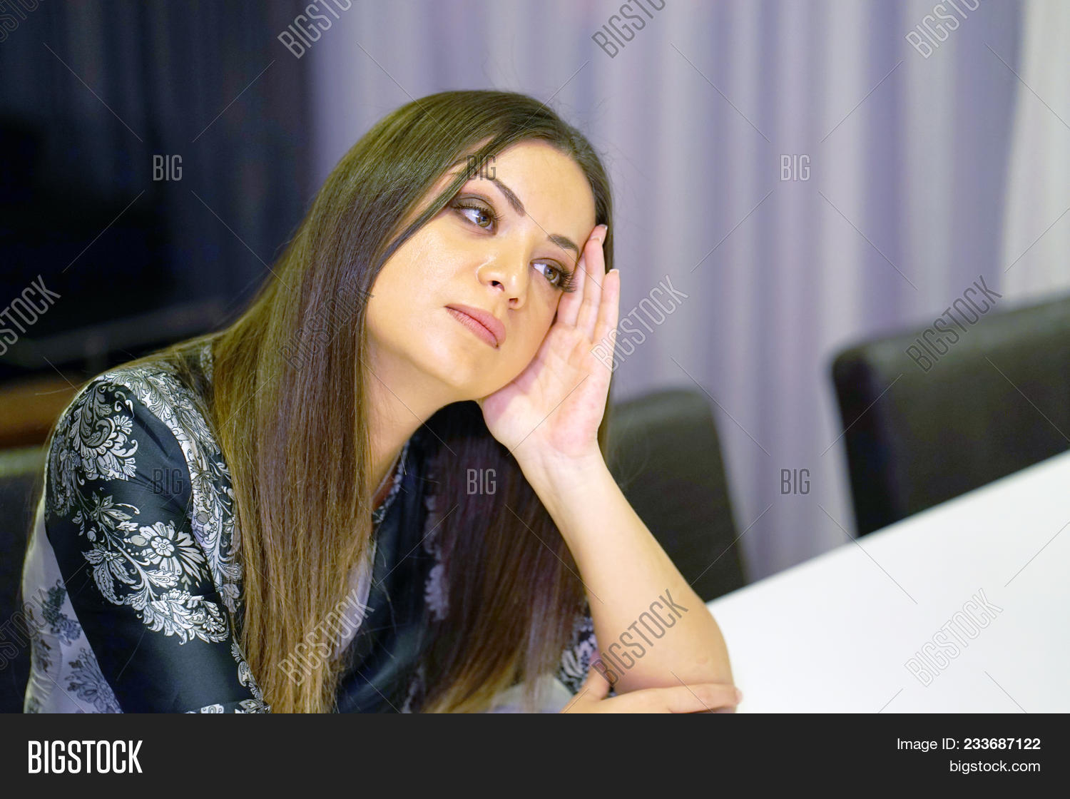 Lonely Young Woman, Image & Photo (Free Trial) | Bigstock