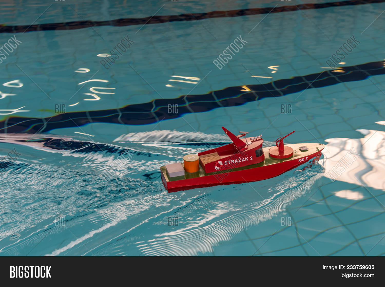 Rc Scale Model Ship Image & Photo (Free Trial) | Bigstock