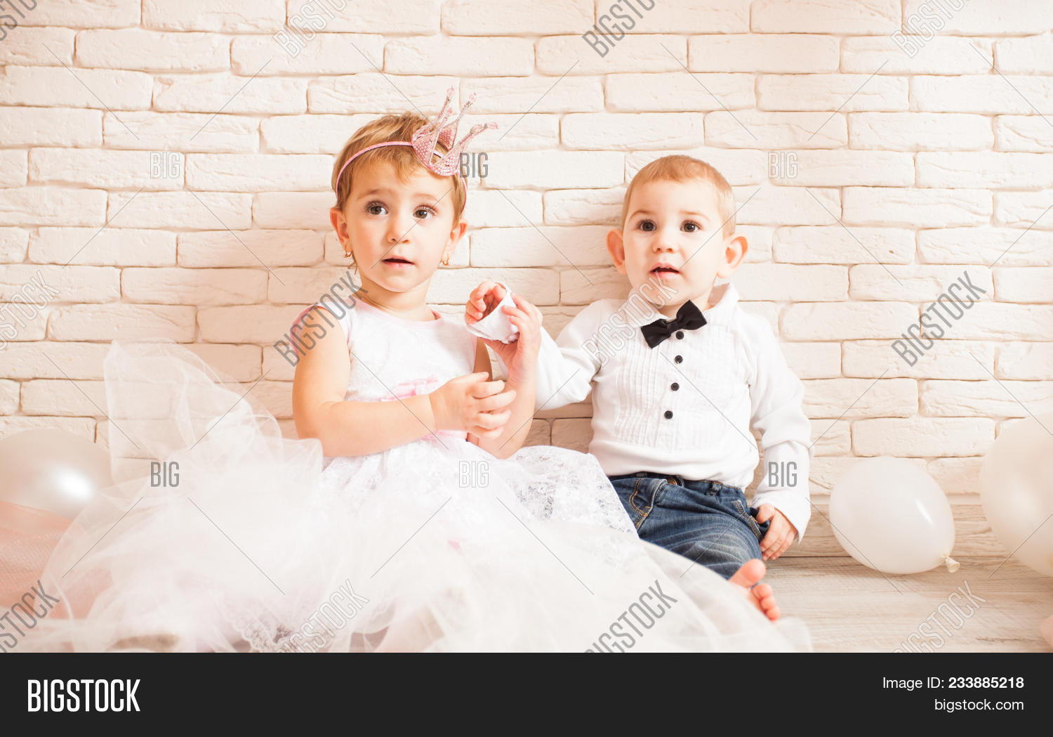 cute babies - boy girl image & photo (free trial) | bigstock