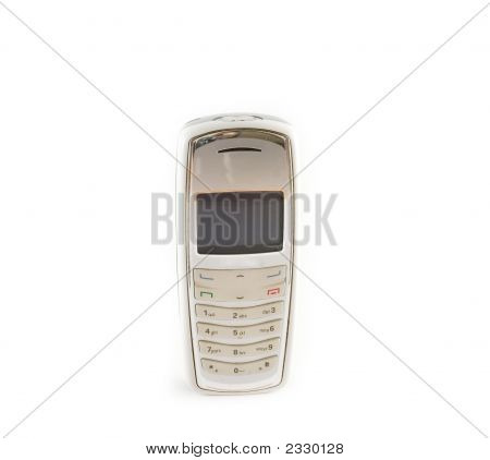 Cell Phone Isolated