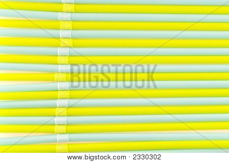 Colored Drinking Straw