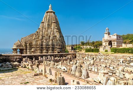 Samadhisvara Temple At Chittorgarh Fort. Unesco World Heritage Site In Rajastan State Of India