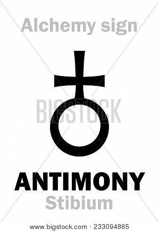 Alchemy Alphabet: Antimony (stibium), One Of Mundane Stuffs,