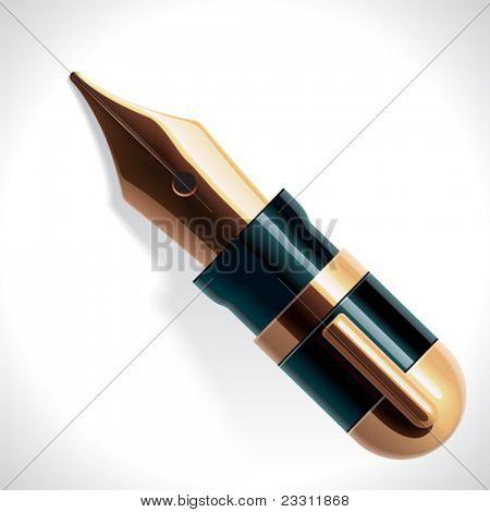 Vector fountain pen XXL icon