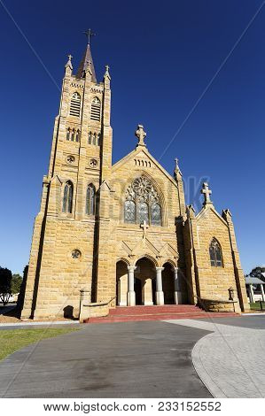 St Mary Catholic Church Is A Twentieth Century Gothic Revival Sandstone Church Erected Between 1920