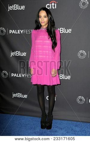 LOS ANGELES - MAR 24:  Bianca Lawson at the 2018 PaleyFest Los Angeles -