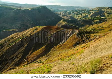 Green Valley. Northern Kurdistan, Turkey