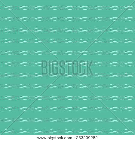 Abstract Seamless Pattern. Part Of Big Sea And Ocean Collection Of Illustrations. Can Be Used For Wa
