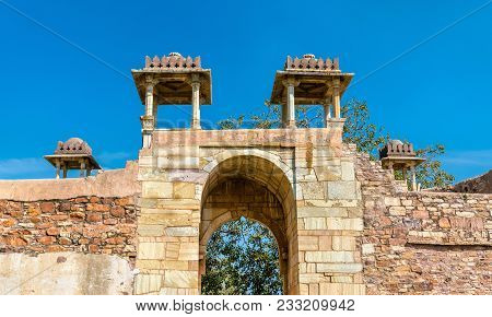 Rana Ratan Singh Mahal, A Palace At Chittorgarh Fort - Rajastan State Of India