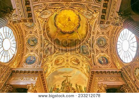 Bergamo, Italy - August 18, 2017: Cathedral And Baptistery.