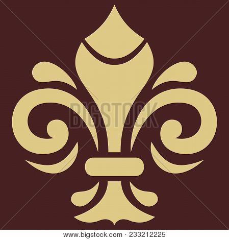 Oriental Vector Pattern With Arabesques And Floral Elements. Traditional Classic Ornament. Vintage G