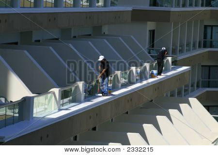 Painters Working