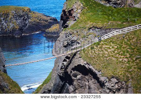 Carrickarade Rope Bridge