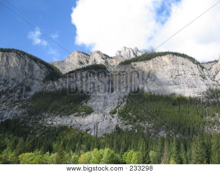 Cascade Mountain  Banff National Park Alberta Canada