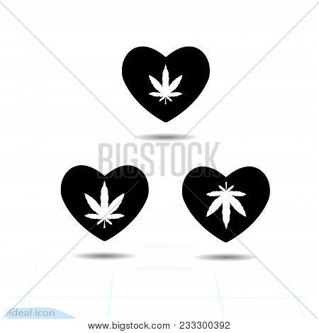 Heart Vector Black Vector Photo Free Trial Bigstock