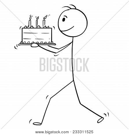 Cartoon Stick Man Drawing Image Photo Bigstock