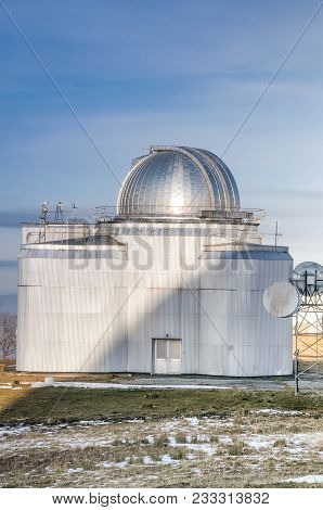 Special Astrophysical Observatory Of Russian Academy Of Sciences Located In Mountain Area, Caucasus,