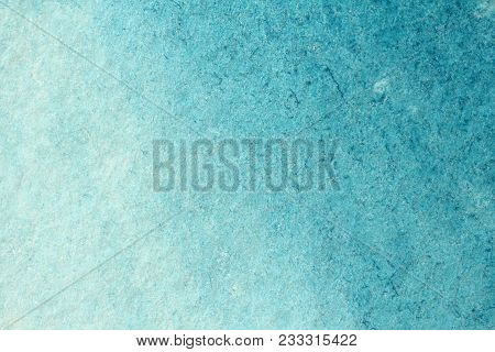 Blue Gradient Watercolor Background. Paper Background. Background For Decoration And Your Design. Wa