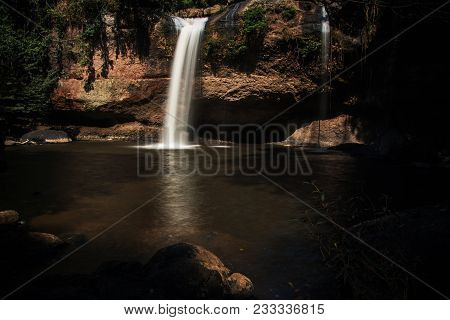 Heo Suwat Water Fall In  Khao Yai National Park  ,  Thailand