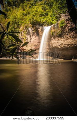 Heo Suwat Water Fall In  Khao Yai National Park  ,  Thailand