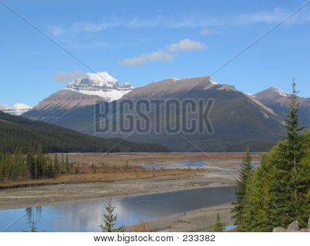 Mt Saskatchewan - Banff National Park, Alberta, Canada