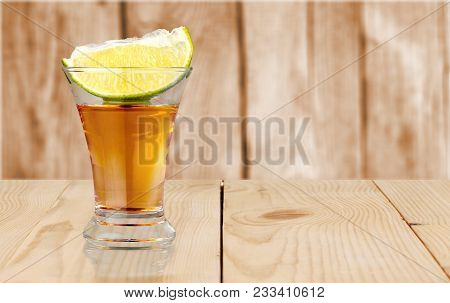 Glass Slice Tequila Liem Green Bar Pub