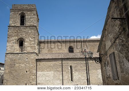 Acerenza (Potenza Basilicata Italy): the medieval cathedral poster
