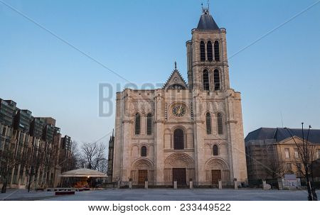 The Basilica Of Saint Denis Is Of Unique Importance Historically And Architecturally As Its Choir, C
