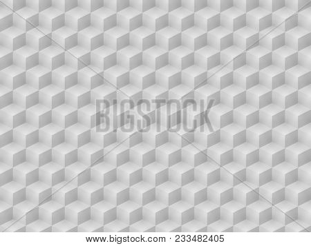 Illustration of a bright cubic seamless background