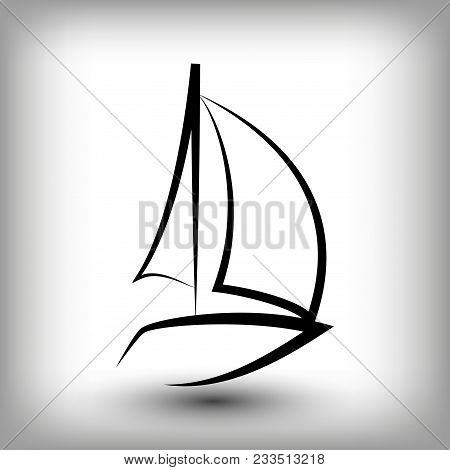 Yacht Logo Templates Vector & Photo (Free Trial) | Bigstock
