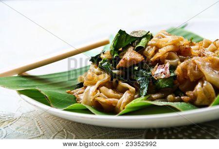 Pad Se-ew Moo , Thai Noodles
