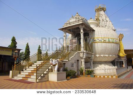 Side View Of Shree Shankheshwar Parshnath Tirth - Jain Kalash Temple, Somatane Toll Plaza, Pune
