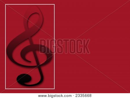 Red Musical Note