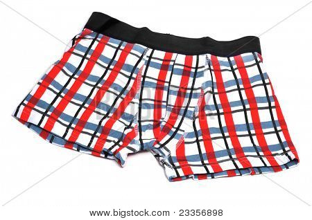 patterned boxer briefs on a white background