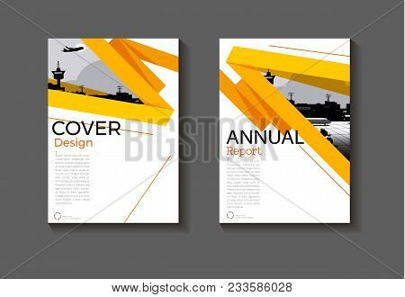 Yellow Layout  Abstract Background Modern Cover Design Modern Book Cover Brochure Cover  Template,an