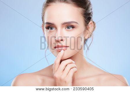 Woman Looking Aside