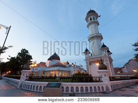Kapitan Keling Mosque In Georgetown Penang , Malaysia