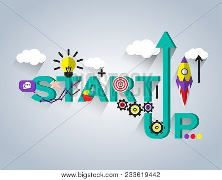 Start Up Concept, New Business Project Start Up