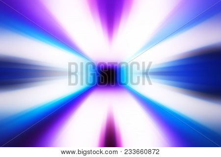 Pink And Purple Arcade Teleportation Background Hd