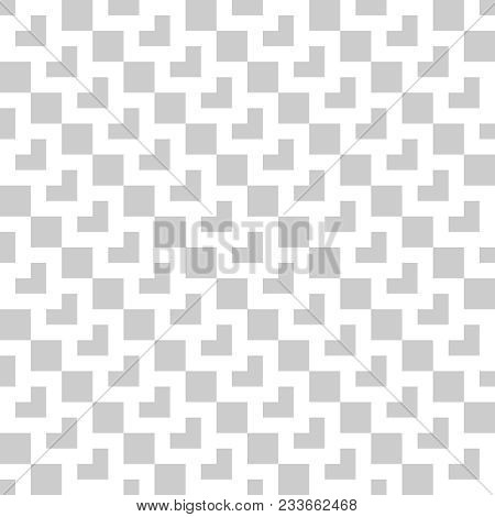 Tile Grey And White Vector Pattern Or Decoration Wallpaper Background