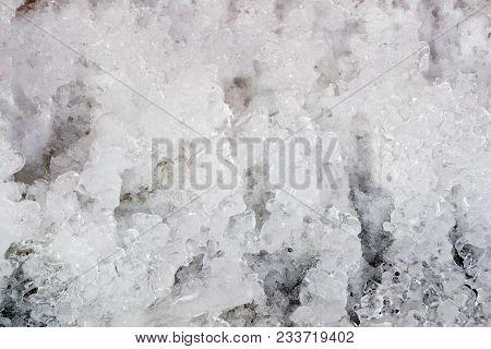 Ice Surface Background Season Slippery Snowflake Space