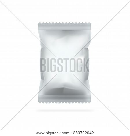 White Blank Foil Food Packing