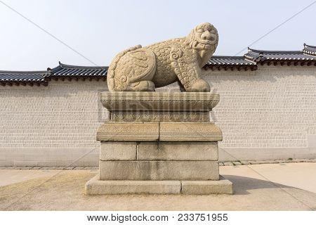Haechi Mythical Creature In Seoul Korea