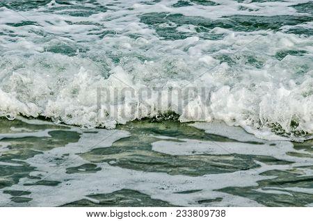 Close-up Of Waves In The Atlantic Ocean