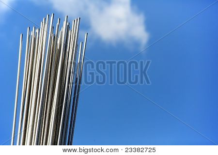 Steel Rods In The Sky