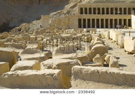 Hatchepsut Templ Ruins